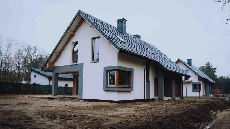 Osiedle domków jednorodzinnych - Radom, ul. Wiolinowa - grudzień 2020
